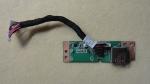 Плата USB для acer extensa 5230E со шлейфом