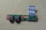 Плата модуль звука для ноутбука HP Compaq Presario CQ61, CQ71