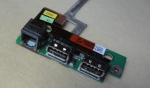 Плата USB и Enternet для Toshiba Satellite A300D