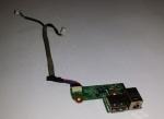 Плата USB разъемов, разъема питания ноутбука HP Pavilion DV6000