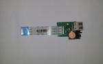 Плата расширения USB ноутбука HP Pavilion dv6-3000